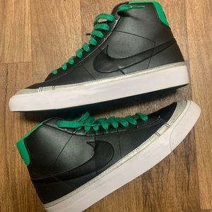 Nike Blazer Black Celtic Green Size 11